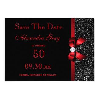 Irgendein Alters-Geburtstags-Save the Date 8,9 X 12,7 Cm Einladungskarte