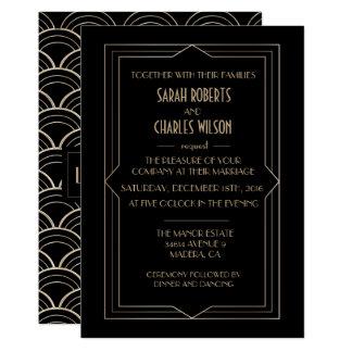 IRGENDEIN EREIGNIS - große Gatsby 12,7 X 17,8 Cm Einladungskarte