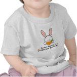 Irgendein Häschen in Kalifornien-Lieben ich Baby-T Tshirts