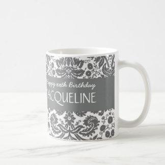Irgendein Jahr-Geburtstag für ihren modischen Kaffeetasse