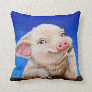Irgendein Schwein durch TACS 16x16 Kissen