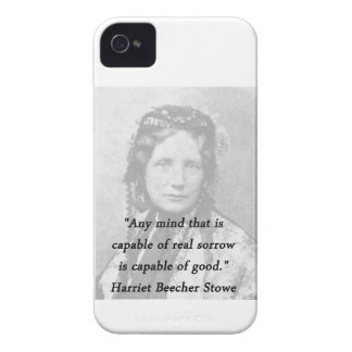 Irgendein Verstand - Harriet Beecher Stowe iPhone 4 Case-Mate Hüllen