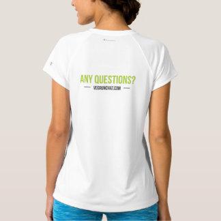 Irgendwelche Fragen - Sport-Tek angepasstes T-Shirt