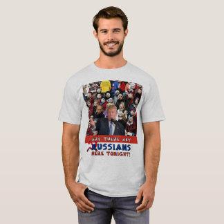 Irgendwelche Russen, Trumpf-Kundgebung, Trumpf, T-Shirt