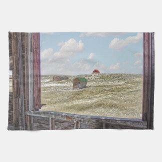 Irgendwo im Zeit-Western-Scheunen-Küchen-Tuch Handtuch