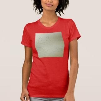 Irina die Katzen-Leinwand, die durch Julia Hanna T-Shirt