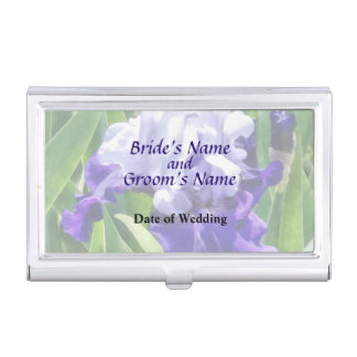 Iris-Beste, das Produkte Wedding ist Visitenkarten Etui