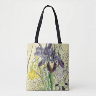 Iris-Blumenphantasie 2,0 Tasche