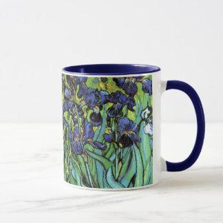 Iris durch feine Kunst-Tasse Van Gogh Tasse