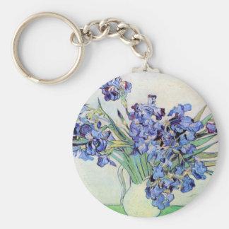 Iris durch Vincent van Gogh Schlüsselanhänger