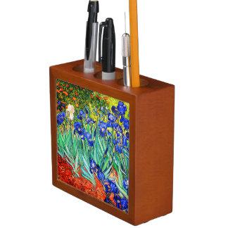 Iris durch Vincent van Gogh Stifthalter