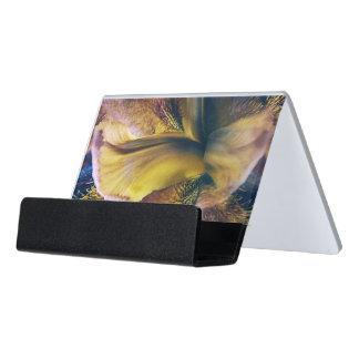 Iris-Fantasie Schreibtisch-Visitenkartenhalter
