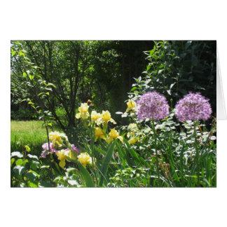 Iris-Garten Karte
