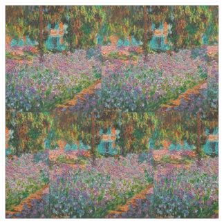 Iris in Monets Garten Stoff