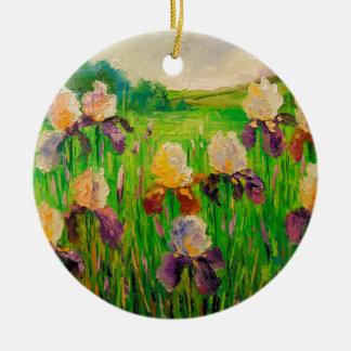 Iris Keramik Ornament