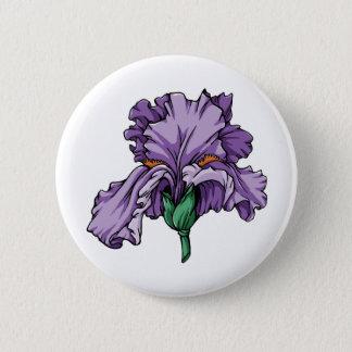 Iris Runder Button 5,1 Cm