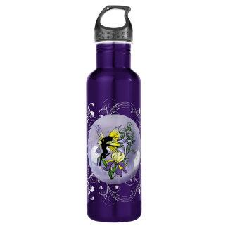 Iris-Schatten-Fee Edelstahlflasche