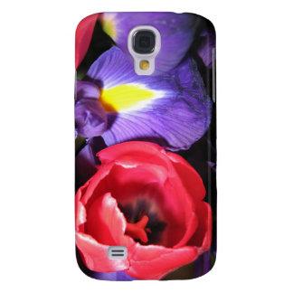 Iris und Tulpen Galaxy S4 Hülle