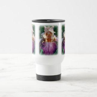 Iris vieler Farben Reisebecher