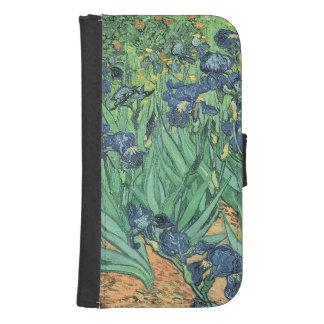 Iris Vincent van Goghs |, 1889 Samsung S4 Geldbeutel Hülle
