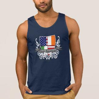 Irisch-Amerikanische Schild-Flagge Tank Top