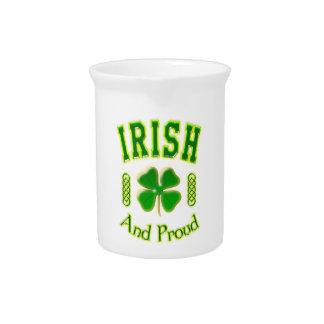 Irisch und stolz krug