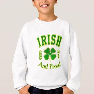 Irisch und stolz sweatshirt