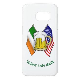 IRISCHE AMERIKANISCHE FLAGGE ST. PATRICKS UND