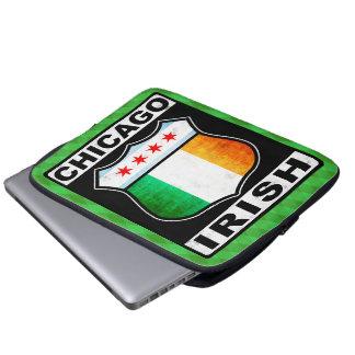 Irische amerikanische Laptop-Hülse Chicagos Laptop Sleeve