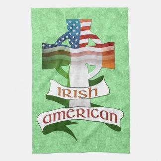 Irische amerikanische QuerGeschirrtücher Geschirrtuch