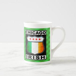 Irische amerikanische Schale Chicagos Porzellantasse