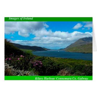 Irische Bilder für irische Grußkarte