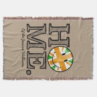 Irische BRITISCHE Stolz Gewerkschafts-Jack-Flagge Decke