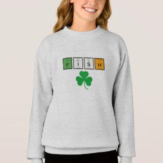 Irische chemische Elemente Zc71n Sweatshirt