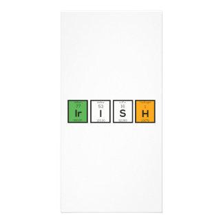 Irische chemische Elemente Zy4ra Karte