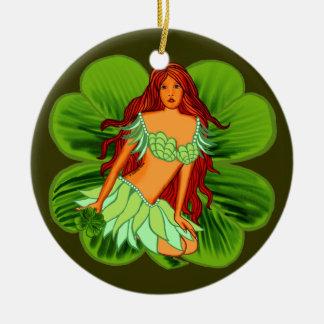 Irische Fee Keramik Ornament