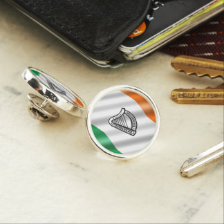 Irische Flagge Anstecknadel