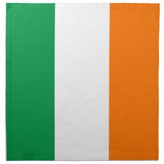 Irische Flagge auf MoJo Serviette