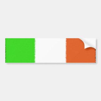 Irische Flagge Autoaufkleber