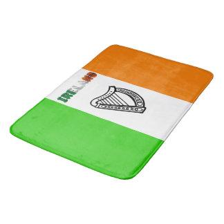 Irische Flagge Badematte
