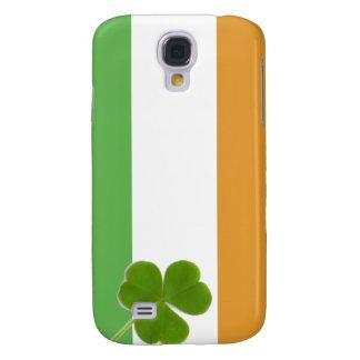 Irische Flagge mit Kleeblatt Galaxy S4 Hülle