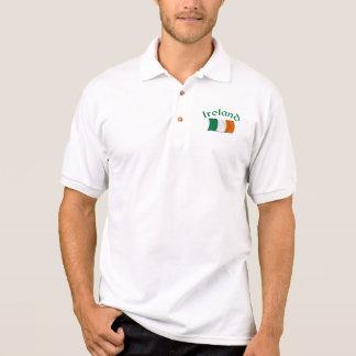 Irische Flagge Polo Shirt