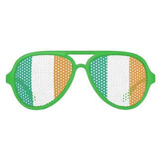 Irische Flagge Sonnenbrille