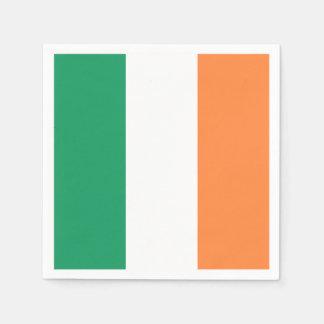 Irische Flagge: Tricolor Heiligen Patrick Papierserviette
