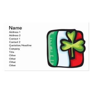 Irische Flagge Visitenkarten