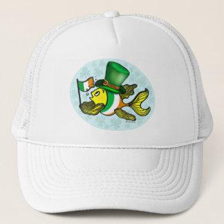 IRISCHE FLAGGEN-FISCHE lustige niedliche Fische Truckerkappe