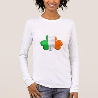 Irische Flaggen-Klee-T - Shirts