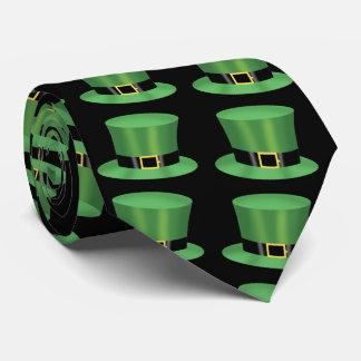 Irische grüne Zylinder Krawatte