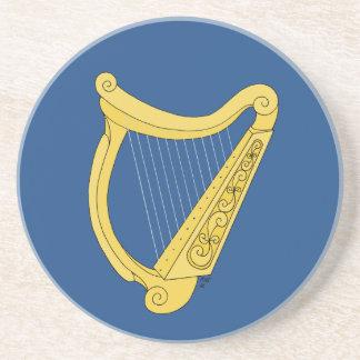 Irische Harfe Getränkeuntersetzer