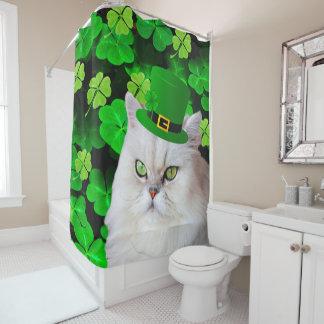 Irische Katze Duschvorhang